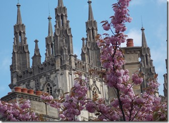 the spires of canterbury cathedral